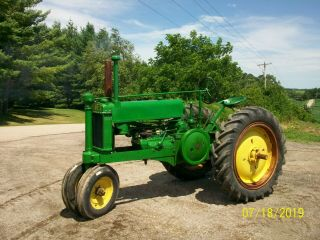 1937 John Deere Unstyled A Antique Tractor a b g h d m 2