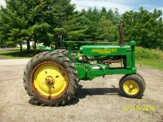 1937 John Deere Unstyled A Antique Tractor a b g h d m 3