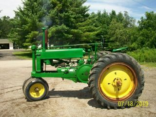 1937 John Deere Unstyled A Antique Tractor a b g h d m 4