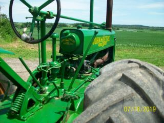 1937 John Deere Unstyled A Antique Tractor a b g h d m 5