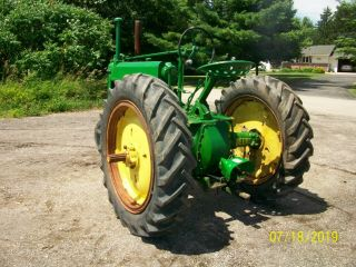 1937 John Deere Unstyled A Antique Tractor a b g h d m 9