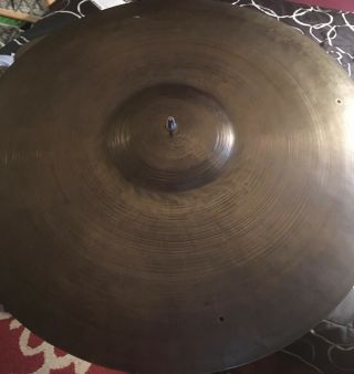 "Vintage 20 "" K Zildjian Istanbul Old Stamp Ride Cymbal Late 40"