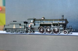 Micro Metakit 97710h Austrian Kob Rh Ip 310 Steam Locomotive Ultra Rare