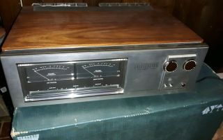 Vintage Luxman M - 4000 Power Amplifier.