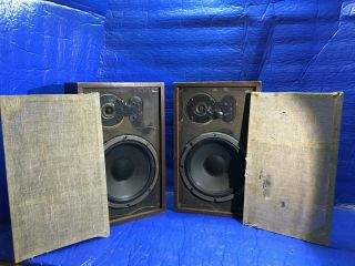 Vintage Acoustic Research Ar7 Speakers Suspension Loudspeaker System