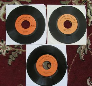Beatles ULTRA RARE WQAM MIAMI PROMOTION ONLY RADIO 45 RECORD AUTHENTIC ISSUE 4