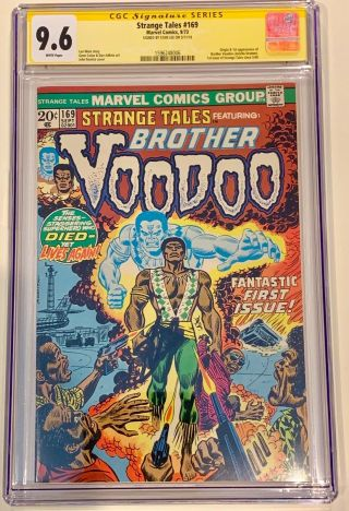 Strange Tales 169 Cgc 9.  6 White 1973 1st App Brother Voodoo Rare In This Grade