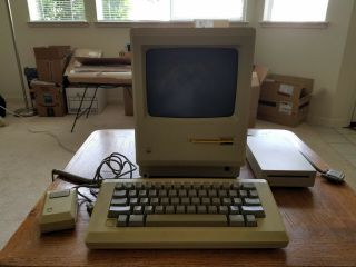 Vintage Apple Macintosh Mac Computer M001W 512K System Bundle 2