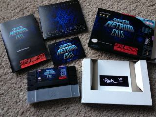 Official Release Metroid Eris Extremely Rare Limited Edition Boxset