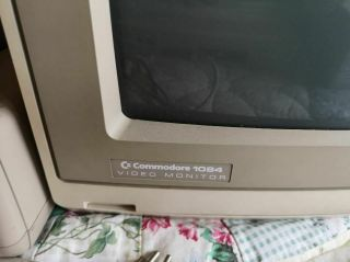 Vintage Commodore 128 Computer 1541 disk drive mps802 printer 1084 Monitor Disks 2