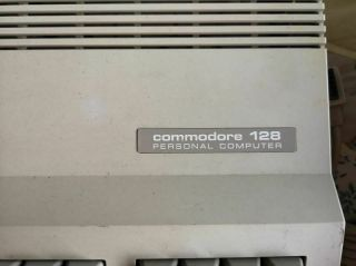 Vintage Commodore 128 Computer 1541 disk drive mps802 printer 1084 Monitor Disks 8