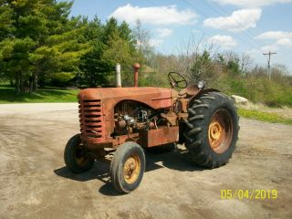 Massey Harris 44 Diesel Standard Antique Tractor Farmall Allis Oiver