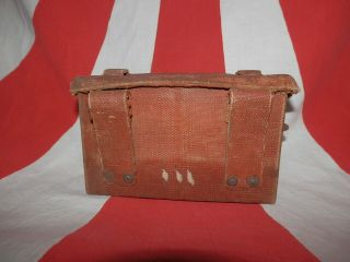 Ww2 Japanese Army Portable Ammunition Bag.  Very Good.  3 - 3