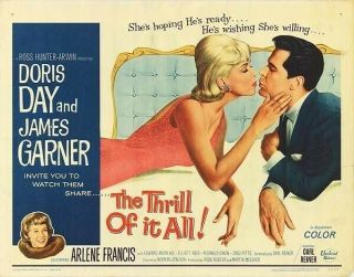Vintage Movie 16mm The Thrill Of It All Feature 1963 Film Adventure Drama