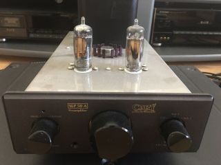 Cary Audio Pre - Amplifier Slp - 50a Tube Vintage Match Great With Cad - 2a3 Se