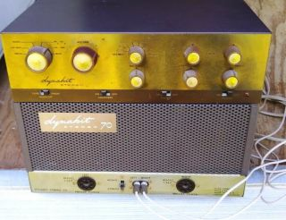 Vintage Dynaco Dynakit Stereo 70 Tube Amplifier,  Pre - Amp Pas - 2,  Instructions