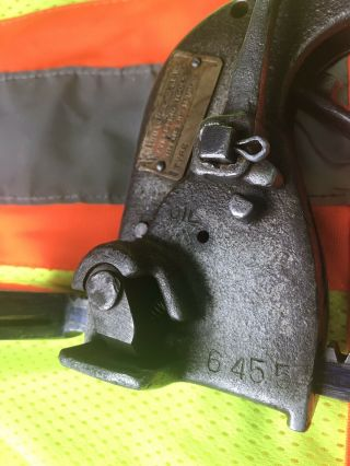Antique Steel Strapping Tool Banding Tensioner 3