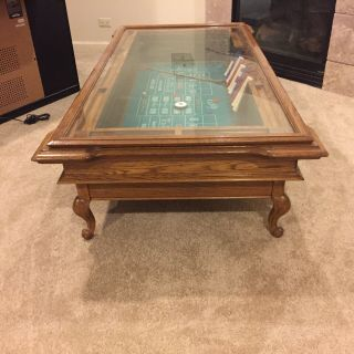 Vintage Coffee Table/Craps Table By Exidy 2
