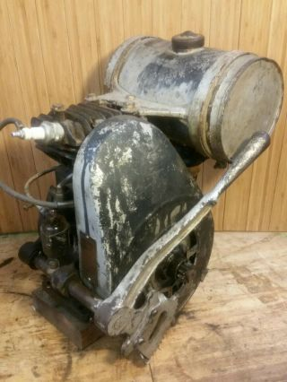 Vintage Briggs & Stratton Model H Engine Type No.  60376 Serial No.  6306