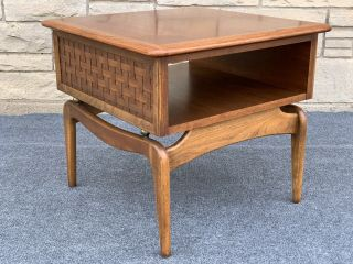 Mid Century Modern Lane Perception Adrian Pearsall Style Lamp End Table - 908 - 06