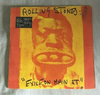 """Rare The Rolling Stones """" Exile On Main Street """" Philippines Unique Cover/labels"""