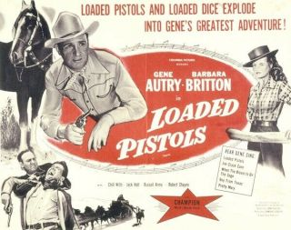 Vintage Movie 16mm Loaded Pistols Feature 1948 Film Drama Western