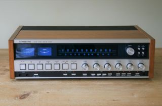 Classic Vintage Tandberg Tr 2075 Stereo Receiver / Tuner Amplifier - Faulty