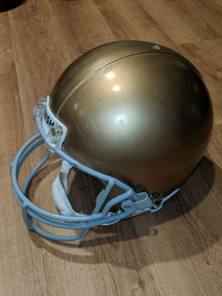 Notre Dame Game Football Helmet Rare Old Vintage Gold 1990s Early 2000s