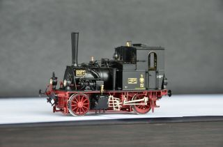 Micro Metakit 10104h Brass Kpev T0 Steam Locomotive Black Livery Rare