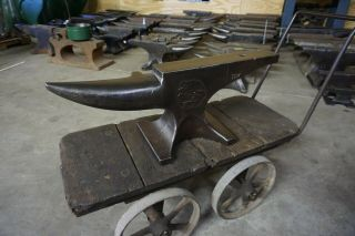 Rare Excell.  120 Lb.  Enders Farrier Blacksmith Anvil Forge Iron
