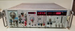 Vintage Tektronix Test Equipment Distortion Analyzer And More