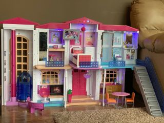 Barbie Doll Dpx21 Hello Dreamhouse With Wifi Voice Activation