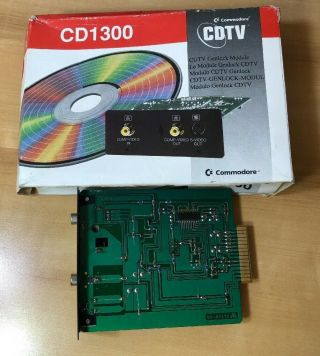 Vintage Amiga CDTV In Packaging/Box,  many Accessories. 4