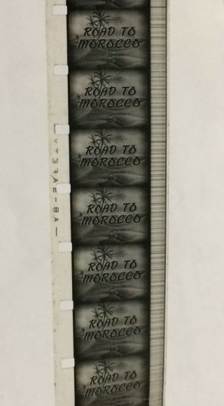 Vintage Movie 16mm Road to Morocco Feature 1942 Film Adventure Drama Comedy 4