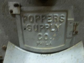 Vintage Peanut Nut Coffee Bean Roaster Poppers Supply Co.  USA Made Electric Gas 5