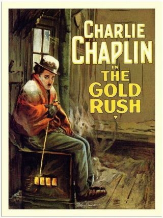 Movie 16mm The Gold Rush Feature Vintage 1925 Film Adventure Charlie Chaplin