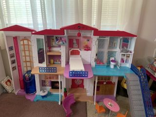 Barbie Doll Dpx21 Hello Dreamhouse With Wifi Voice Activated