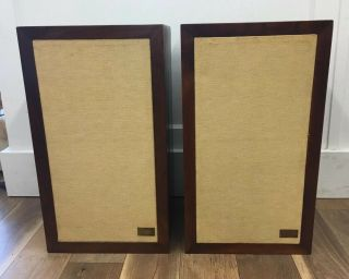 Set Of 2 Two Vintage Acoustic Research Ar - 3a Speakers 64086,  64008