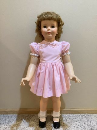 """Vintage Ideal Patti Playpal Doll 35 """" - 36 """" Baby Face"""