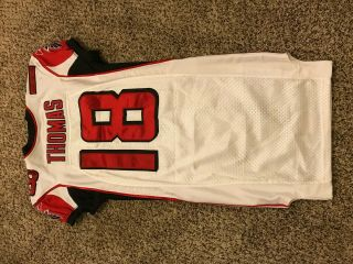 Atlanta Falcons Reebok Authentic Vintage Throwback Game Worn Issued Jersey