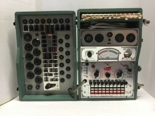 Vintage Seco 107 Tube Tester Mutual Conductance Meter W Index,  &
