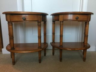 Vintage Roche Bobois 2 Matching End Tables