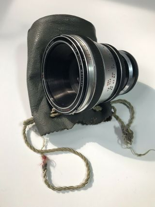 Rare Heinz Kilfitt Makro - Kilar F/2.  8 90mm M42 Mount Lense With Bag And Both Caps