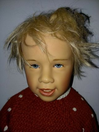 Rare Vintage 49 Gotz Ola 27 Inch Made In Germany Doll