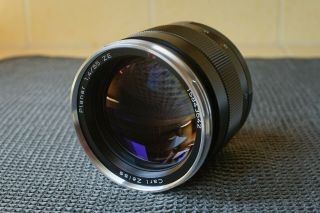 Zeiss Planar T 85mm F/1.  4 Mf Ze Lens For Canon -,  Rarely
