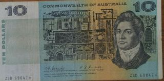 """Coombs Randall $10.  00 """" Star """" Note.  Very Very Rare & Scarce This Or Any"""