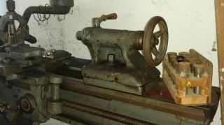 Vintage South Bend Lathe Lathe - From 1930 ' s 3