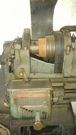 Vintage South Bend Lathe Lathe - From 1930 ' s 4
