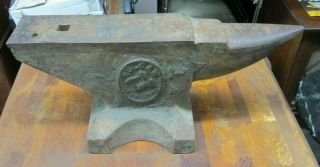 Vintage Vulcan Arm & Hammer Anvil 70 Pound -