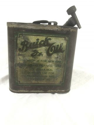 Vintage Buick Oil Monarch Manufacturing Co Council Bluffs Toledo Los Angeles